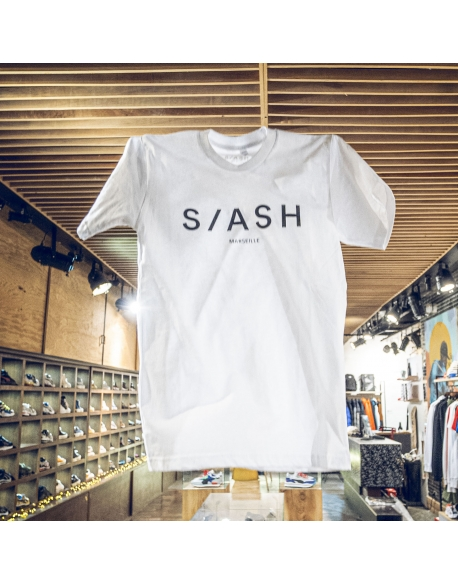 SLASH TEE WHITE