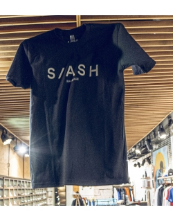 SLASH TEE BLACK