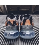 NIKE MX-720-818 METALLIC SILVER/BLACK-TOTAL ORANGE