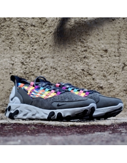 NIKE REACT SERTU IRON GREY/BLACK-LT SMOKE GREY