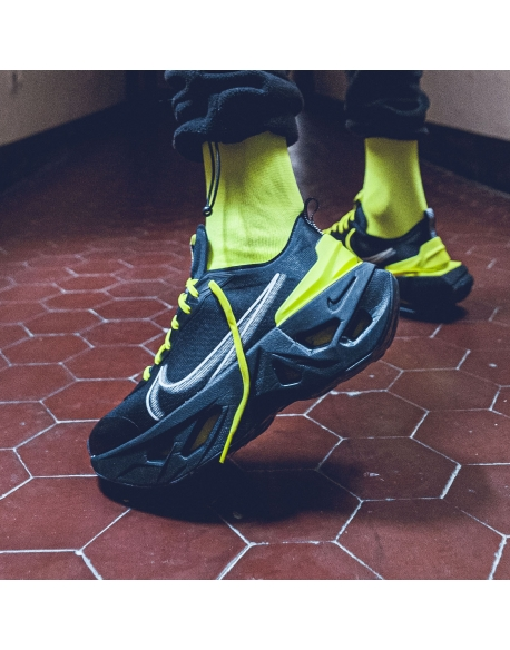 NIKE ZOOM X VISTA GRIND OFF NOIR/OFF NOIR-LEMON VENOM-BLACK