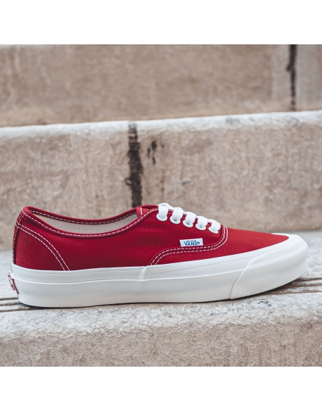 VANS OG AUTHENTIC LX CANVAS RED