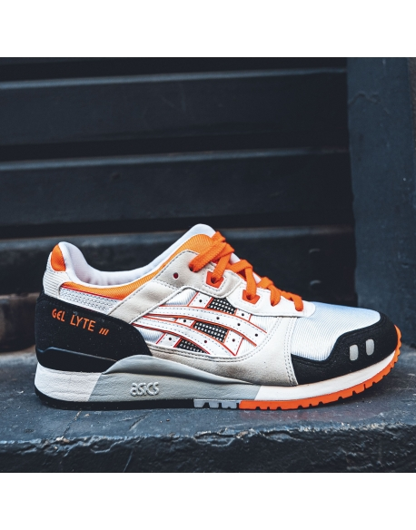 ASICS GEL-LYTE III OG WHITE/FLASH CORAL