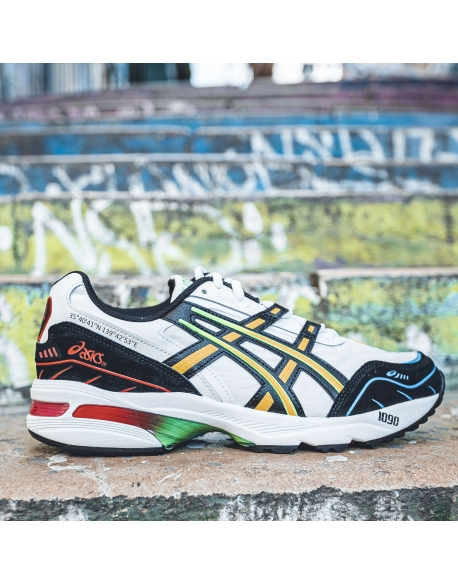 ASICS GEL-1090 WHITE/BLACK