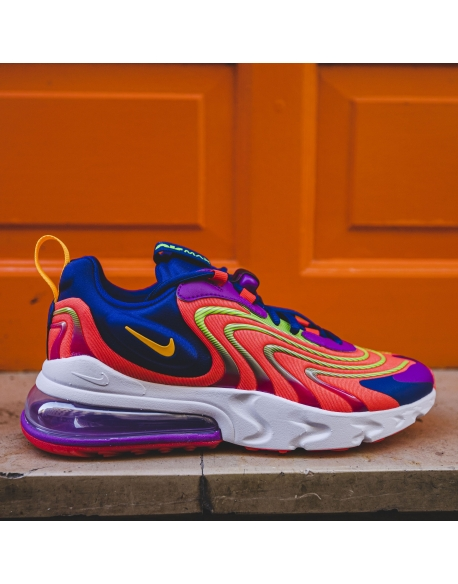 NIKE AIR MAX 270 REACT ENG LASER CRIMSON/LASER ORANGE