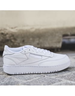 REEBOK CLUB C DOUBLE WHITE/WHITE/CDGRY2