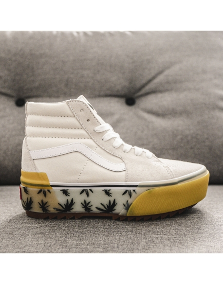 VANS SK8 HI STACKED LX SUEDE/CANVAS