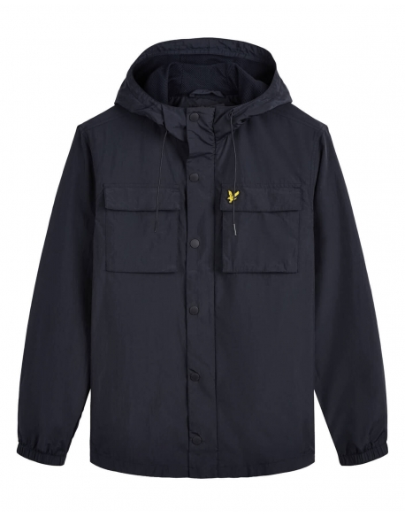 LYLE & SCOTT POCKET JACKET DARK NAVY