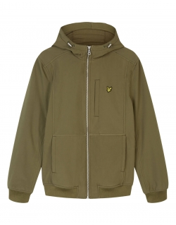 LYLE & SCOTT SOFTSHELL JACKET LICHEN GREEN