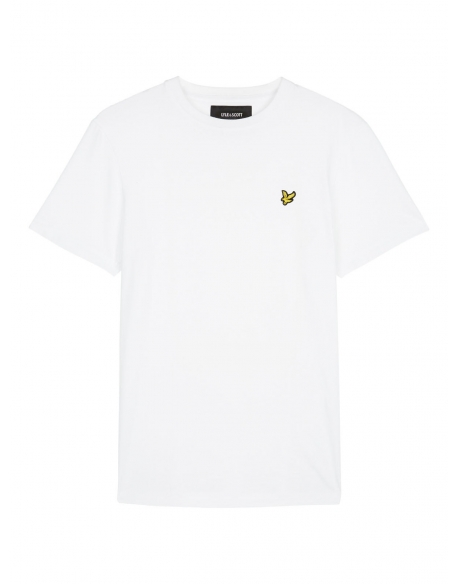 LYLE & SCOTT PLAIN T-SHIRT WHITE