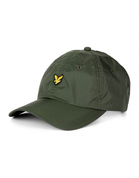 LYLE & SCOTT RIPSTOP CAP WOODLAND GREEN
