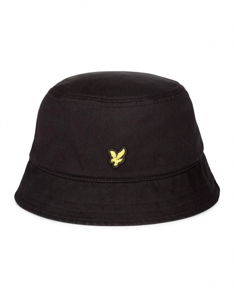LYLE & SCOTT BUCKET HAT TRUE BLACK