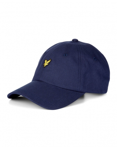 LYLE & SCOTT BASEBALL CAP DARK NAVY