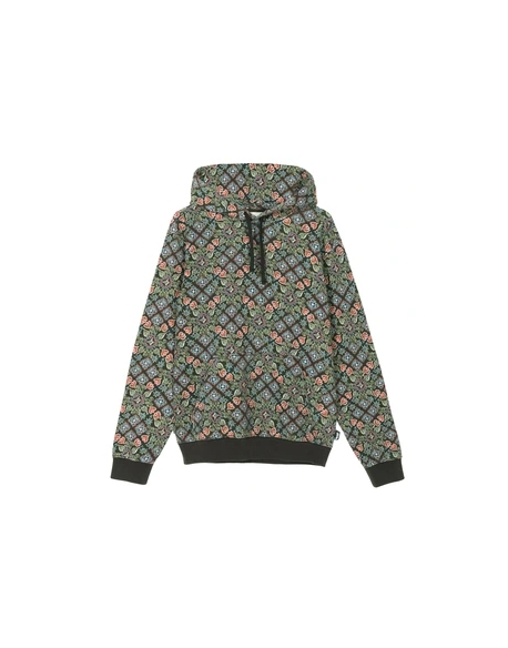 STUSSY TAPESTRY FLEECE BLACK
