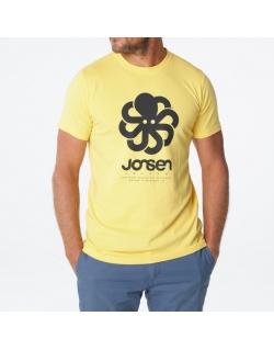 JONSEN ISLAND T-SHIRT CLASSIC BIG YELLOW