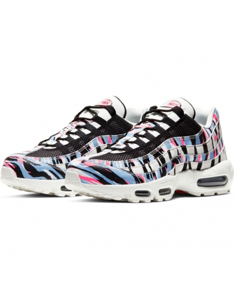 NIKE AIR MAX 95 KOREA SUMMIT WHITE/BLACK-ROYAL TINT-RACER PINK