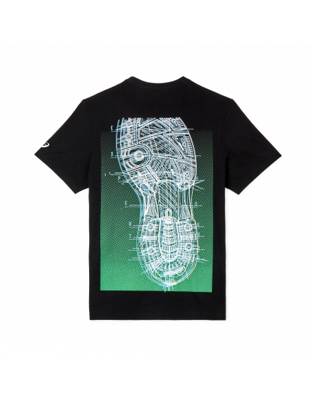 ASICS EXPERT HORROR GRAPHIC TEE BLACK