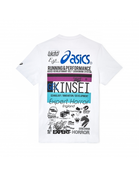 ASICS EXPERT HORROR GRAPHIC TEE WHITE