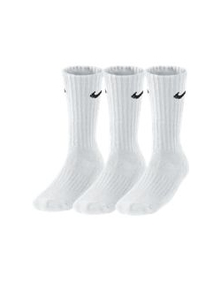 NIKE UNISEX CUSHION CREW TRAINING SOCK (3 PAIR)