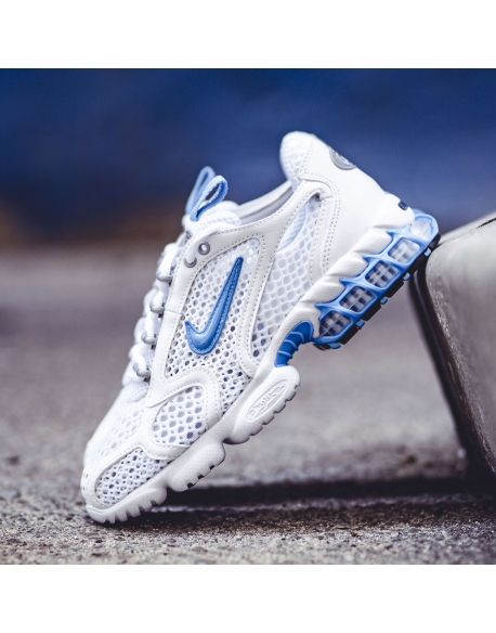 NIKE AIR ZOOM SPIRIDON CAGE 2 WHITE/UNIVERSITY BLUE