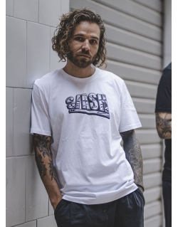 SLASH TEE BY HUGO GOON WHITE