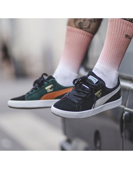 PUMA CLYDE THE HUNDREDS .BLACK