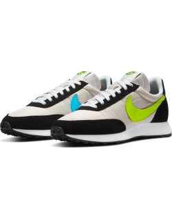 NIKE AIR TAILWIND 79 WHITE/VOLT-BLUE FURY-BLACK