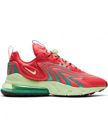 NIKE AIR MAX 270 REACT ENG TRACK RED BARELY VOLT
