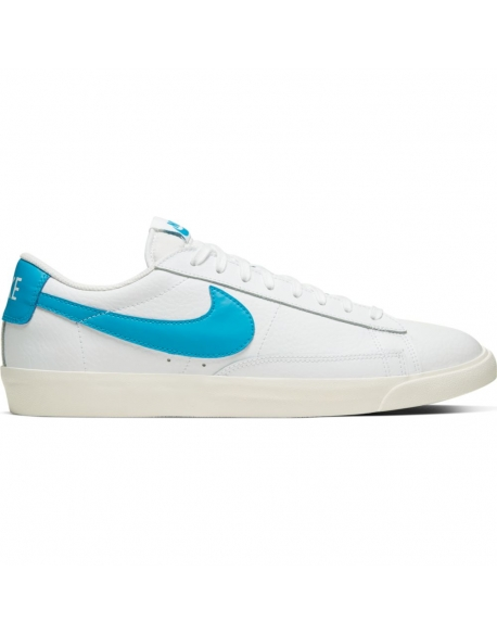 NIKE BLAZER LOW LEATHER LASER BLUE