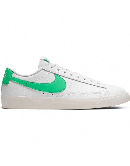 NIKE BLAZER LOW LEATHER GREEN SPARK