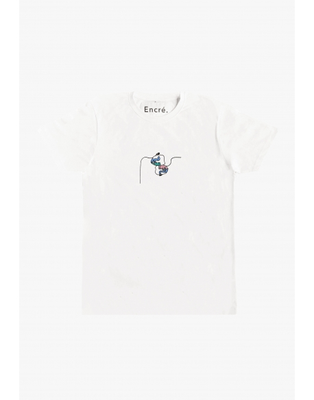 ENCRE TRUST TEE WHITE