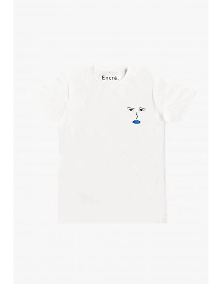ENCRE MINI HARRY TEE WHITE