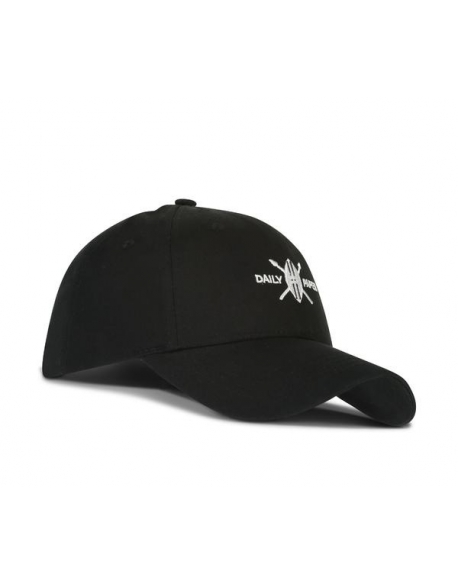 DAILY PAPER SHIELD LOGO CAP BLACK
