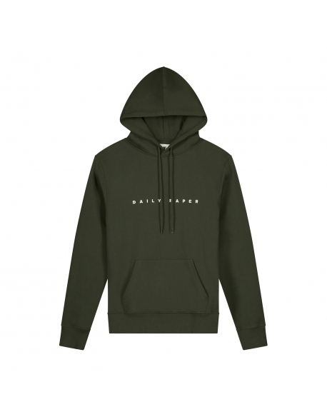 DAILY PAPER ALIAS HOODIE FOREST GREEN