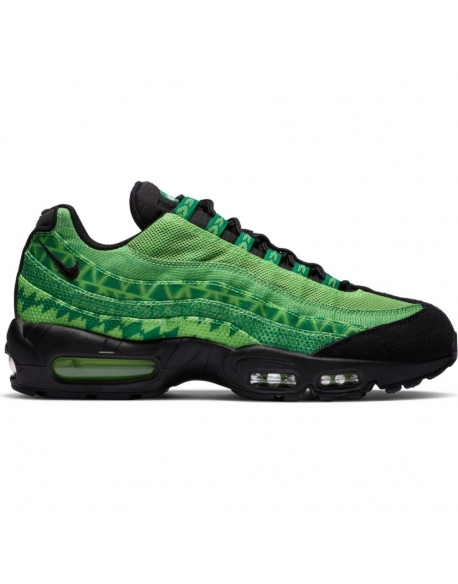NIKE AIR MAX 95 NAIJA PINE GREEN/BLACK-SUB LIME-WHITE