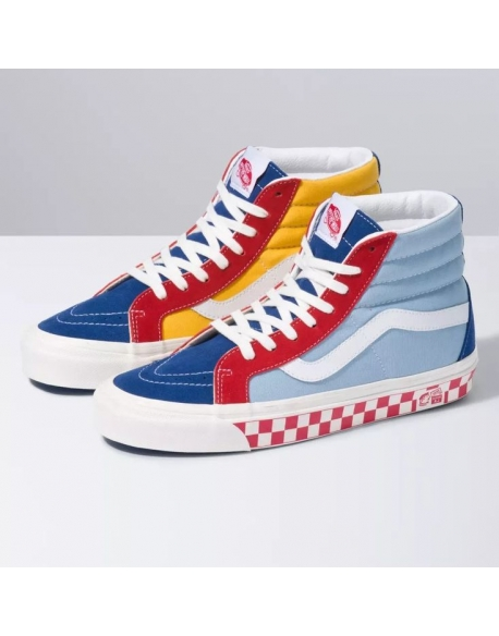 VANS UA SK8-Hi 38 DX ANAHEIM FACTORY) COLOR MIX