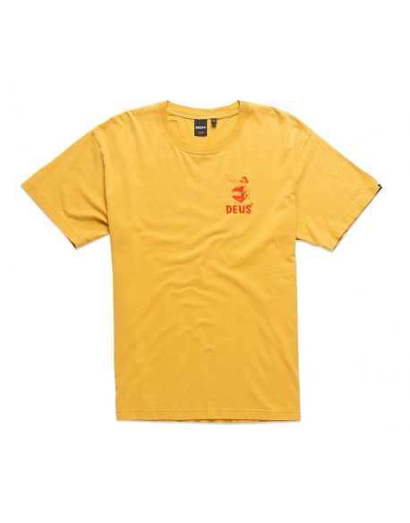 DEUS KRAFTWERK TEE HONEY GOLD