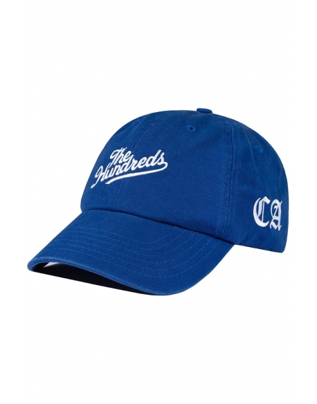 THE HUNDREDS HOMETOWN DAD CAP BLUE