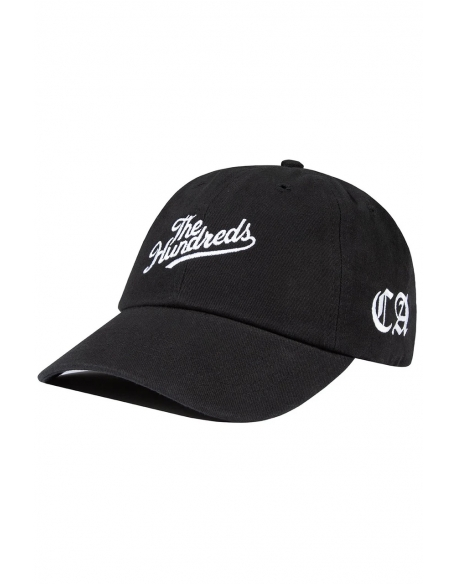 THE HUNDREDS HOMETOWN DAD CAP BLACK