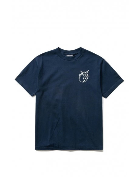 THE HUNDREDS FOREVER SIMPLE ADAM T-SHIRT NAVY