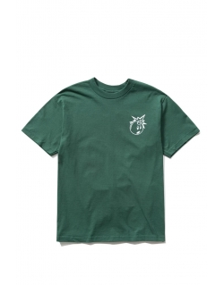 THE HUNDREDS FOREVER SIMPLE ADAM T-SHIRT FOREST