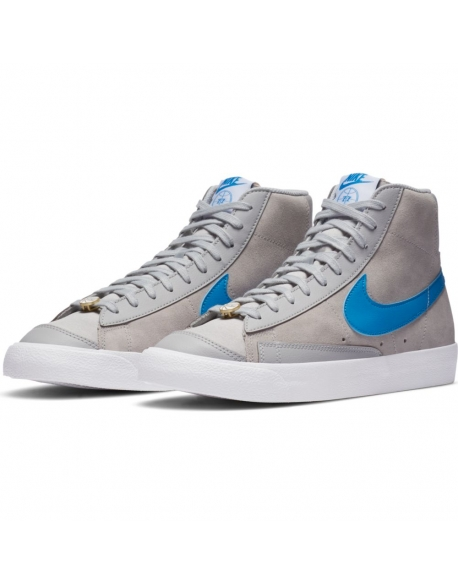 NIKE BLAZER MID '77 NRG GREY FOG/LT PHOTO BLUE-WHITE