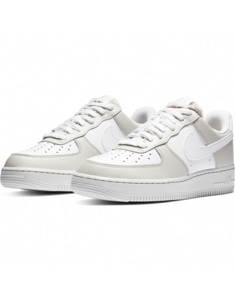 NIKE AIR FORCE 1 '07 LIGHT BONE/WHITE-PHOTON DUST-LIFE LIME