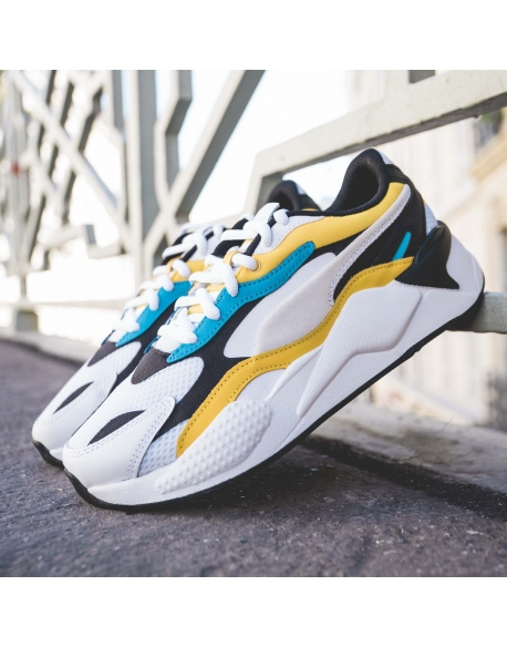 PUMA RSX3 PRISM SPECTRA YELLOW