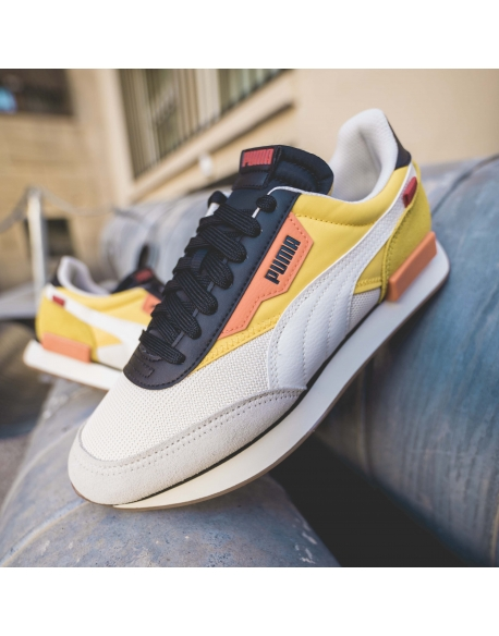 PUMA FUTURE RIDER NEW TONES SUPER LEMON