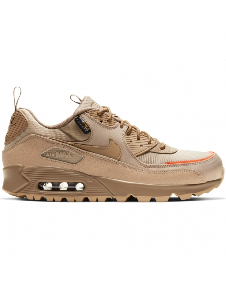 NIKE AIR MAX 90 SURPLUS DESERT CAMO SAFETY ORANGE