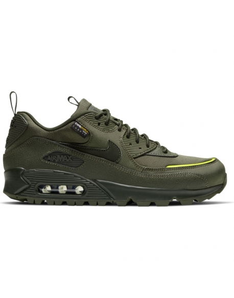 NIKE AIR MAX 90 SURPLUS CARGO KHAKI/SEQUOIA-LEMON VENOM