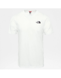 THE NORTH FACE M S/S SIMPLE DOME TEE WHITE