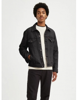 LEVI'S VINTAGE FIT TRUCKER JACKET BLACK