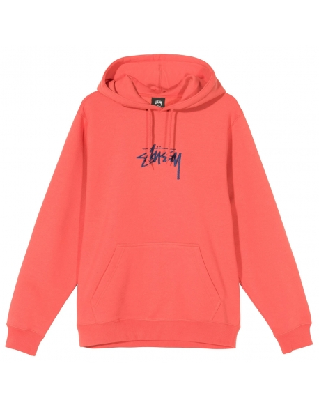 STUSSY STOCK LOGO APP PALE RED